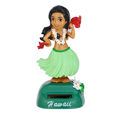 Amosfun Solarbetriebene Hawaiian Girl Dolls Auto Ornamente Schütteln Auto Dekoration Luau Hawaii Party Favors - Vita M Ps Spiele