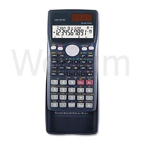 Buy Wooum Multifunctional Scientific 2 Line LCD Display Calculator Portable Handheld Function Calculator 401 Functions (Grey)-72 online in India at discounted price