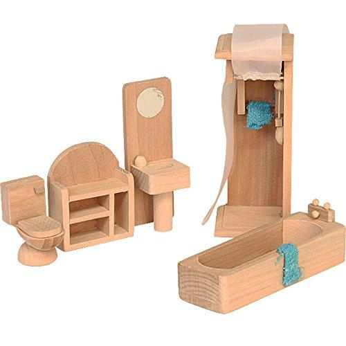 Beluga Spielwaren 70118 - Badezimmer, Puppenhausmöbel
