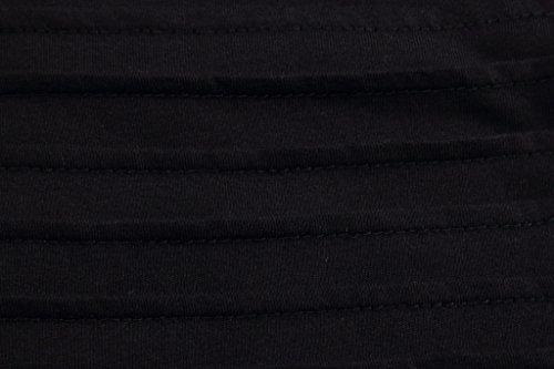 Pizoff Unisex Hip Hop Urban Basic langes T Shirts mit Kontrast Einsatz Design Y1742-2