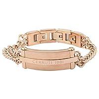 Cerruti 1881 Rose Gold Stainless Steel Bracelet For Men - CRJ B012SR