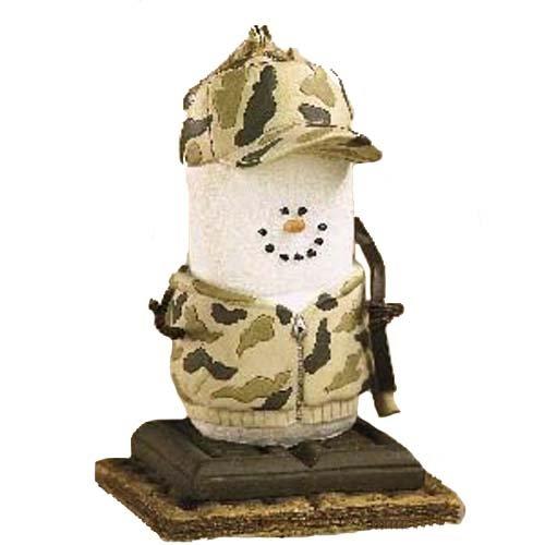 Midwest-CBK Weihnachtsdekoration S 'mores Camo Hunter Weihnachten/EVERYDAY Ornament