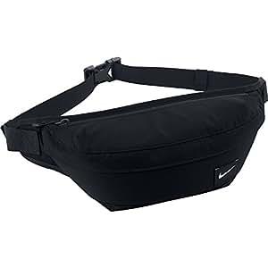 Nike Waistpack Men's Hood Waist Pack Bum Bag-Black/Silver