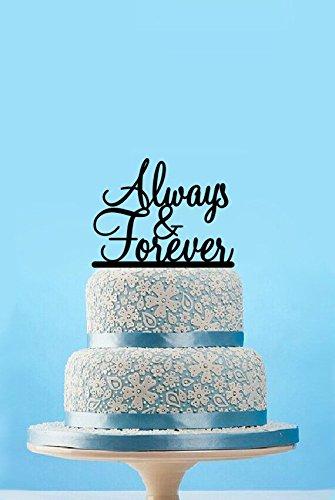 Always and Forever Vintage matrimonio anniversario Cake