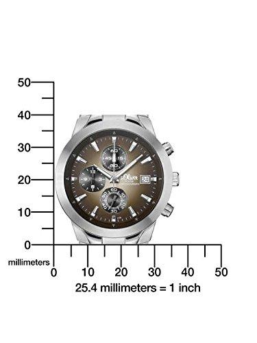 s.Oliver Herren-Armbanduhr Analog Quarz SO-348-MC