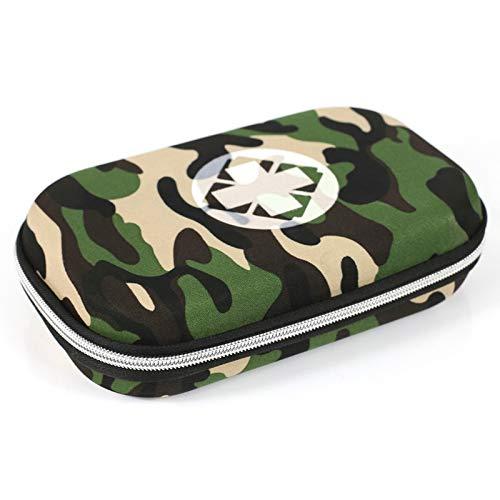 ICTYPM Medicine Box Reise-Pillen-Kasten-Erste-Hilfe-Ausrüstungs-Beutel-Kasten, Medizinische Aufbewahrungstasche Tragbares Medizinisches Paket Notfall-medizinisches Ausrüstungs-Überlebens-medizinische (Schwarz Gepäck-sets Auf Verkauf)