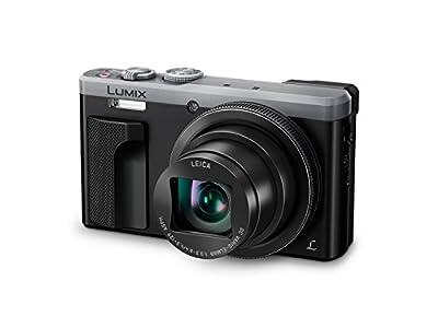 Panasonic DMC-TZ81EG-K Lumix High-End Travelzoom Kamera (30x Leica Zoom, 4K 25p Video, Sucher mit Augensensor, 7,6 cm (3 Zoll) Touch-LCD, manueller Fokus)
