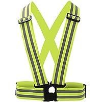 Chaleco reflectante de alta visibilidad Running cinturón