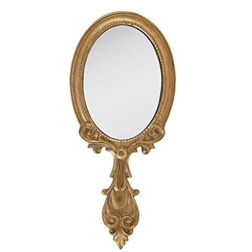 Clayre-y-Eef-62S037-Espejo-de-mano-10-x-24-cm-color-dorado