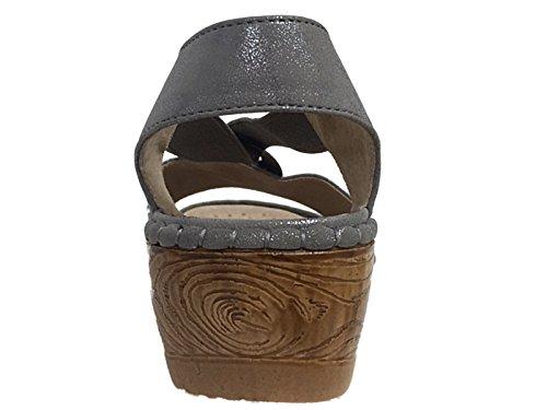 Silver Scarpe alla donna ragazza con cinturino caviglia da Cushion Walk AzxZ5vR