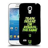 Head Case Designs Train Insane Fitness Motivation Ruckseite Hülle für Samsung Galaxy S4 Mini I9190