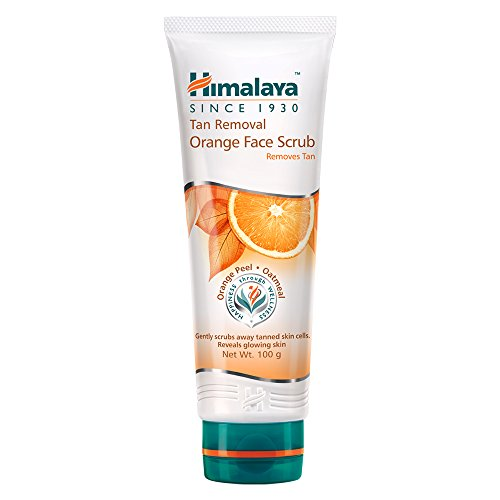 Himalaya Tan Removal Orange Face Scrub, 100g