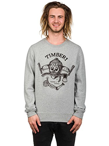 Element Timber Crew Neck Grey Heather