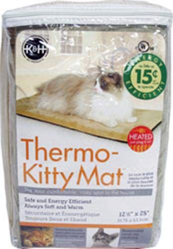 K&H Manufacturing Thermo-Kitty Matte, 12.5 by 25
