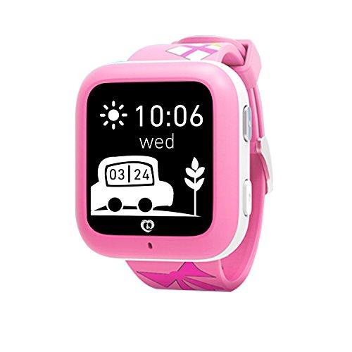 Relojes inteligentes Misafes, Niños SOS Smartwatch Teléfono GPS Trac