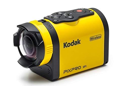 'Kodak'Pixpro Cámara de acción, 14MP Amarillo/Negro