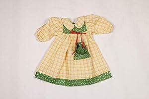 Sturm 8845-1 - Vestido de Primavera con Bolsillo para muñecas, Color Amarillo y Verde