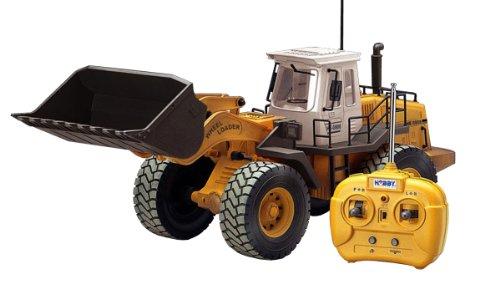 Hobby Engine Échelle 1 : 14 à roulettes Chargeuse véhicule de Chantier Radio contrôlée