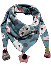 Webla(TM) Des Foulards Laine de Motifs Mignonne en Bébé Unisexe Echarpe Bébé  Les Garçons Les Filles Mode Balles en Tombent et écharpe Cou… 9a440fa9a5e
