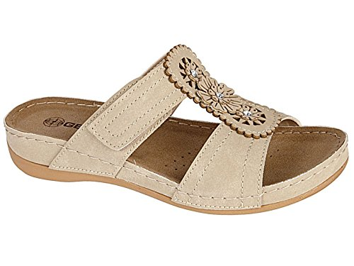 ladies-gezer-faux-leather-cut-out-summer-slip-on-lightweight-low-wedge-mule-sandals-shoe-3-8-uk-6-be