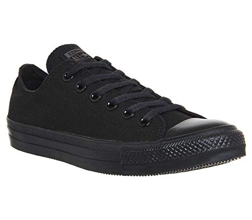 CONVERSE Chuck Taylor All Star Seasonal Ox, Unisex-Erwachsene Sneakers, Schwarz (Black), 41 EU - High-top Converse Schwarz