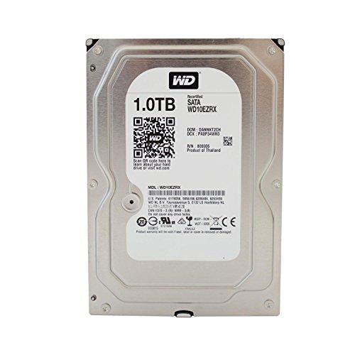 Western Digital Green Desktop Interne Festplatte 3,5 Zoll, 8,9cm, PC, HDD, NAS, 5400-RPM, IntelliPower, SATA-600, HDD - recertified, Kapazität:1.000GB (1TB)