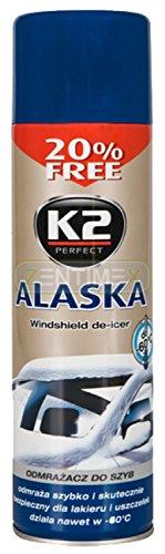 Autoscheiben Frontscheiben Enteiserspray Scheibenentfroster Scheibenenteiser Defroster Klarsicht Antifrost Winter KFZ PKW Glas 0,5l -70°C SPRAY
