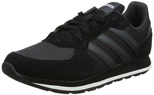 adidas Damen 8K DB1742 Gymnastikschuhe, Schwarz (Core Black/Carbon S18/Crystal WHT S16), 39 1/3 EU