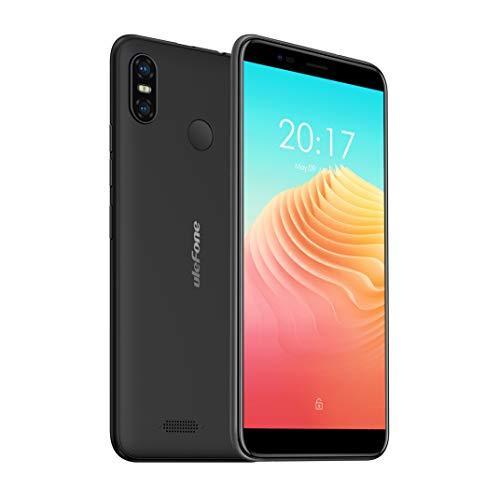 Dual SIM Handy ohne Vertrag, Ulefone S9 Pro (5.5 Zoll HD+ Display, 2GB RAM + 16GB, Gesichts-ID, 13MP + 5MP + 5MP kameras, Günstige Smartphone Android 8.1, 3300mAh Akku) Schwarz