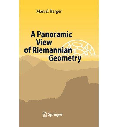 [ A PANORAMIC VIEW OF RIEMANNIAN GEOMETRY ] By Berger, Marcel ( AUTHOR ) Nov-2002[ Hardback ]