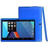 "7"" Google Android 4.4 16:9 Width Screen 800X480 Quad Core Tablet PC 1GB+8GB Dual Camera WiFi Bluetooth US Plug (Blue)"