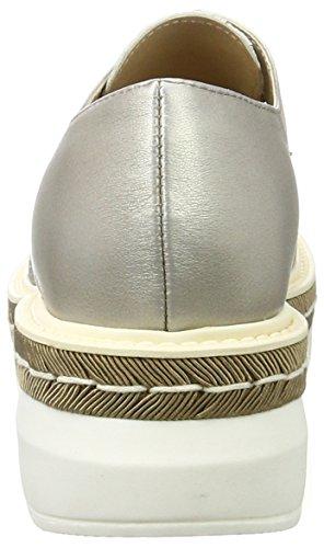 Peperosa 3402, Derby Chaussures Femme Argent (mocha)