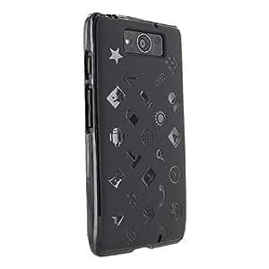 Droid Maxx Case, Cruzerlite Experience TPU Case (EXP Case) Compatible for Motorola Droid Maxx (Late 2013) - Black