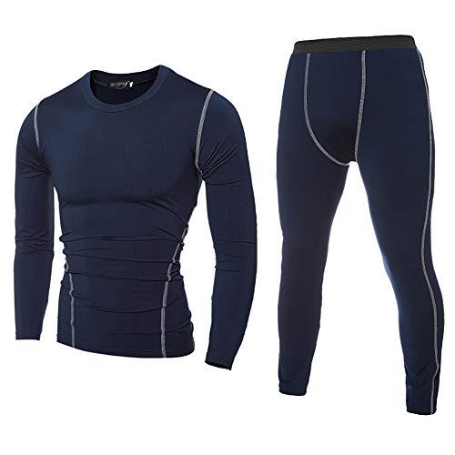 MCYs Enges Bodybuilding-T-Shirt für Herren Schnell Trocknende Oberteile Hosen Sauna Sweatanzug Saunaanzüge Trainingsanzug Fitnessanzug Schweissanzug