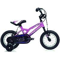 Monty 102 Bicicleta, Unisex niños, Rosa, Única