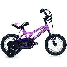 Monty 102 Bicicleta, Unisex niños, Rosa, ...