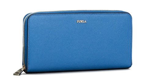 FURLA Women Portafoglio Blu Babylon XL Blue Wallets & Purses OneSize