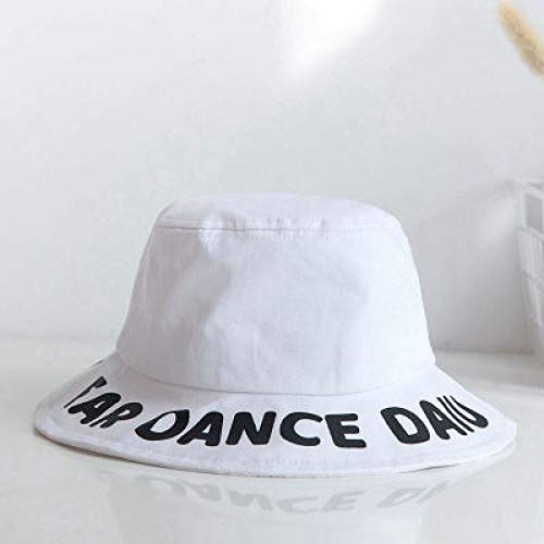 Kostüm Kinder Davy Jones - KFEK Kreative Englisch Alphabet Fischer Hut Erwachsenen Visier Outdoor-Sport Becken Hut Brief Fischer Hut A4