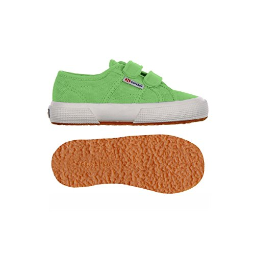 Superga 2750 Jvel Classic, Sneaker Unisex – Bambini Grass Green