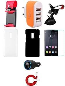 NIROSHA Mobile Combo for OnePlus 2 - 1P2-SH-3UA-CC-CUC-MH-TSBC-KHBC-TG