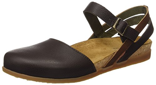 El Naturalista S.A Nf41 Soft Grain Zumaia, Damen Closed-toe Sandalen, Braun (Brown Mixed), 39 EU -