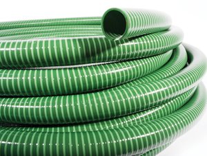 Medium Duty Green Suction & Delivery Hose 5mtr Coil 2