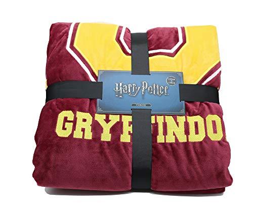 Half Moon Bay Harry Potter G FOR GRYFFINDOR, Manta, Rojo/Amarillo, 125 x...