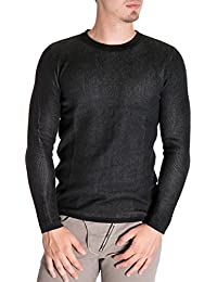 ANTONY MORATO - Homme col rond bleu sweater mmsw00546/ya200001