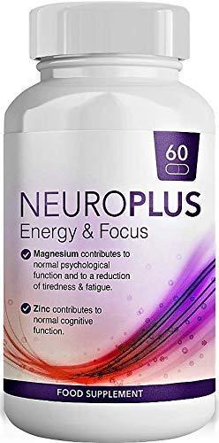 Koffein mit L-Theanin, Vitamin B5, Zink und Magnesium für fliessende Energie & Fokus - Konzentrierte Energie für Körper und Geist - Der Nummer 1 nootropische Stack für kognitive Leistung