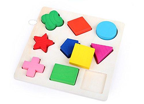 Leisial. Juguetes Rompecabezas Geometricas de Formas...