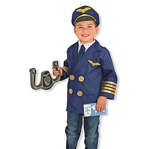 Melissa & Doug Kinderkostüm Pilot (Flugzeug Fancy Dress Kostüm)