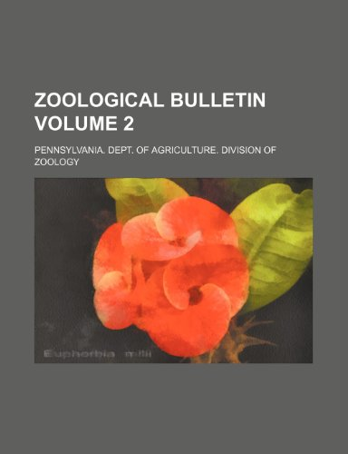 Zoological bulletin Volume 2