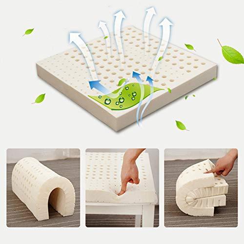 SHINIU Naturlatex Sitzkissen Pad Stuhl Hüften Orthopädische Sitzkissen Latex Matten Steißbein Protect