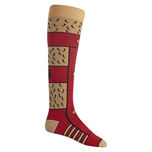 Burton Herren Party SK Snowboard Socken, Gladiator, M (Knöchel-socken Burton)